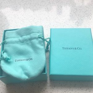 Tiffany and Co. box and pouch